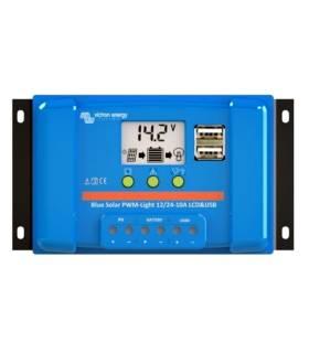 Regulador de carga Victron BlueSolar PWM-LCD & USB 12/24-5