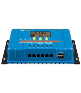 Regulador de carga Victron BlueSolar PWM-LCD & USB 48-10