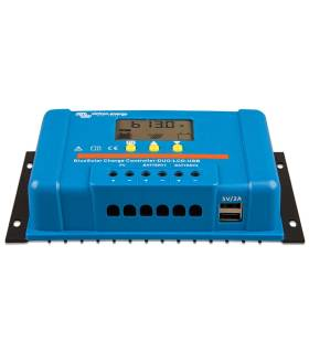 Regulador de carga Victron BlueSolar PWM-LCD & USB 48-20