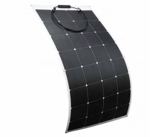 Placa solar fotovoltaica flexible ETFE* (Fibra) 160W ELEKSOL Lucis-160W B