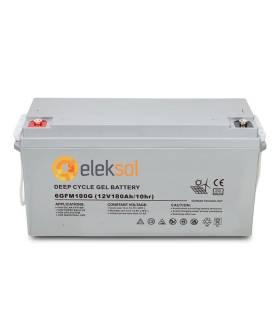 Batería Solar ELEKSOL GEL 6GFM180 - 12V 180Ah