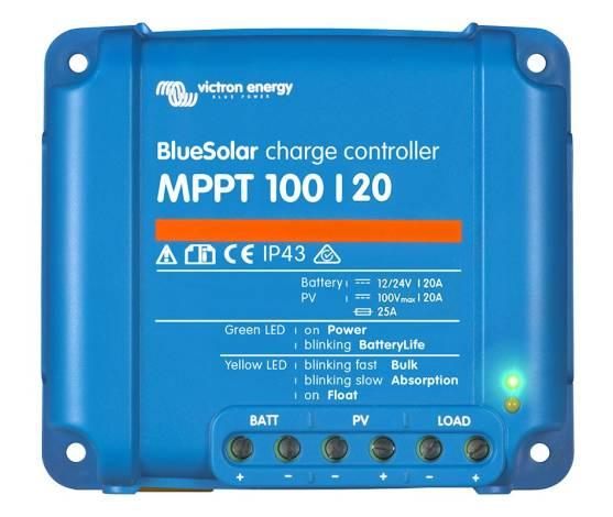 Regulador de carga VICTRON BlueSolar MPPT 100/20 - 48V - 20A