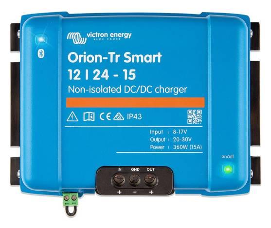 Cargador CC/CC Victron Orion-Tr Smart 12/24-15 (360W) No Aislado