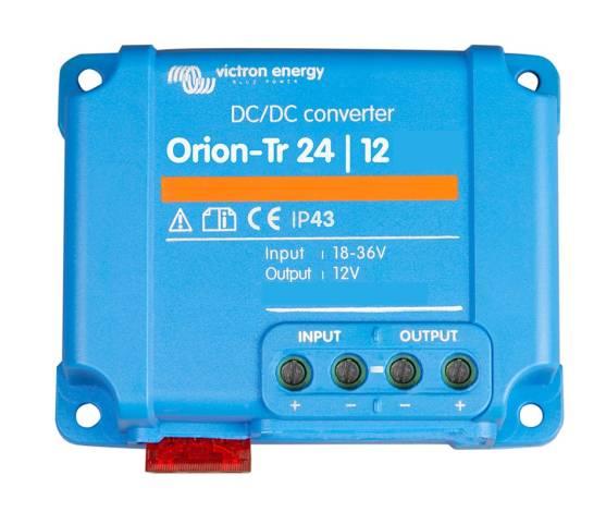 Convertidor CC/CC Victron Orion-TR no aislado 24/12-15 (180W)