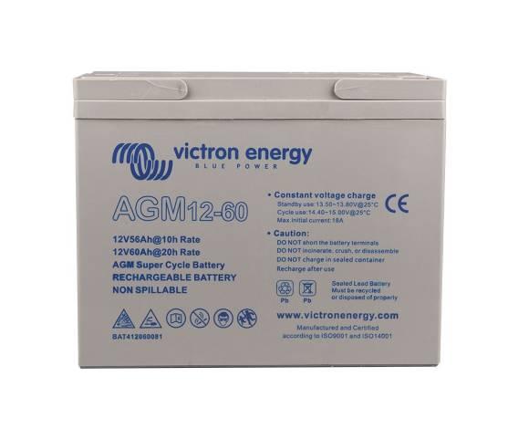Batería solar Victron Energy AGM Super Cycle 12V - 60Ah C20
