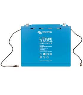 Batería litio Victron LiFePo4 (sin mantenimiento) 12.8V / 50 Ah - Smart