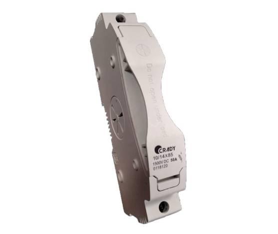 Base portafusible  para fusibles tamaño 10/14 x 85 1500 vDC
