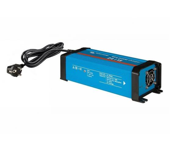 CARGADOR DE BATERIAS BLUE POWER 24V 15A - 3 salidas