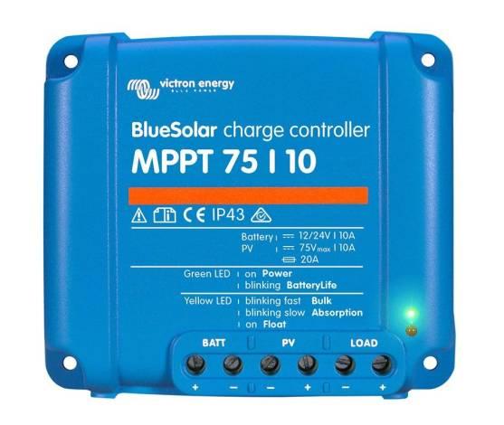 Regulador de carga BlueSolar MPPT 75/10 (12/24V-10A)