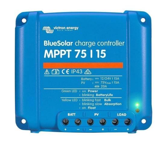 Regulador de carga BlueSolar MPPT 75/15 (12/24V-15A)
