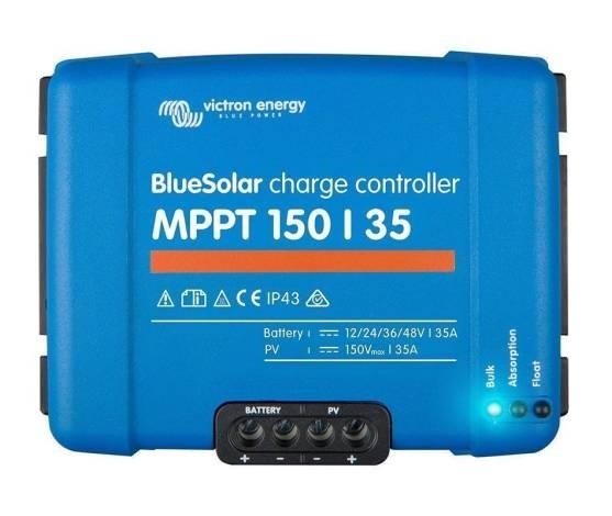 Regulador de carga BlueSolar MPPT 150/35 (12/24/48V-35A)