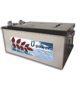 Batería solar U-POWER AGM (Sin mantenimiento) 12V – 160Ah /C100