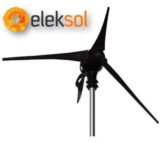 Aerogenerador Eleksol 24V 2000W