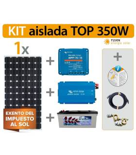 Kit Solar Fotovoltaico 3 TOP 350W