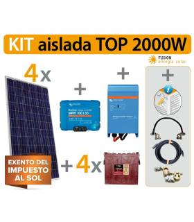Kit Solar Fotovoltaico 5.1 TOP 2000 W