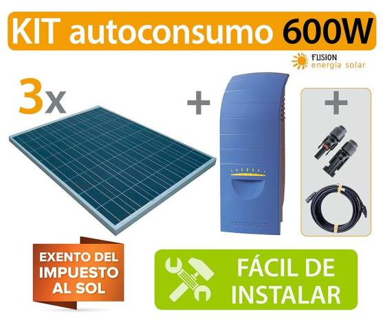 Kit Autoconsumo Soladin 600W