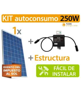 Kit Autoconsumo 250W Microinverter