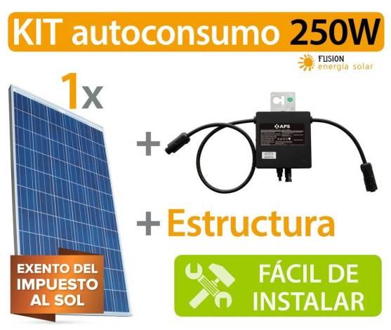 Kit Autoconsumo 250W Microinverter