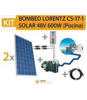 KIT BOMBEO LORENTZ CS-17-1 SOLAR 48V 600W (PISCINA)