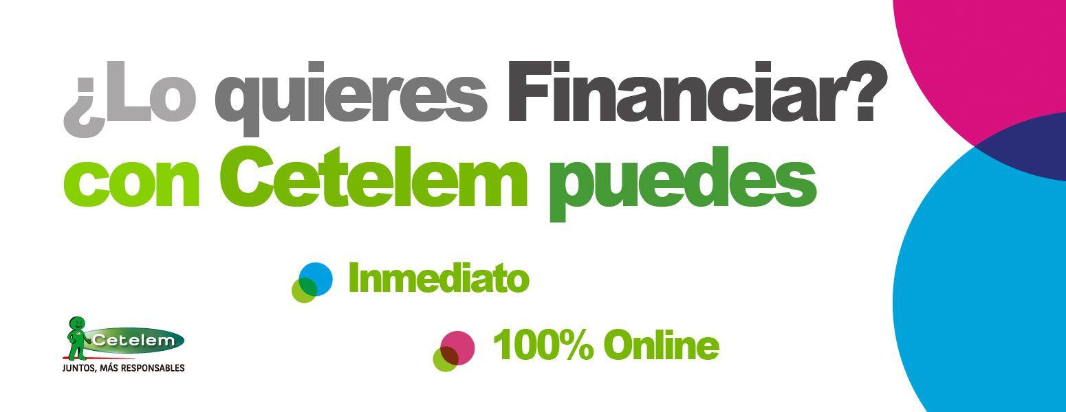 Financia tu compra con Cetelem