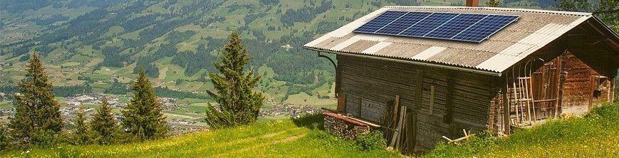 Formulario para instalación solar aislada de la red.