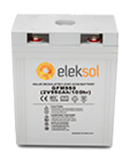 Batería AGM Eleksol 3GFM550
