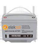 Batería de Gel Eleksol 100A 6GFM100G