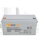 Batería de Gel Eleksol 180A 6GFM180G