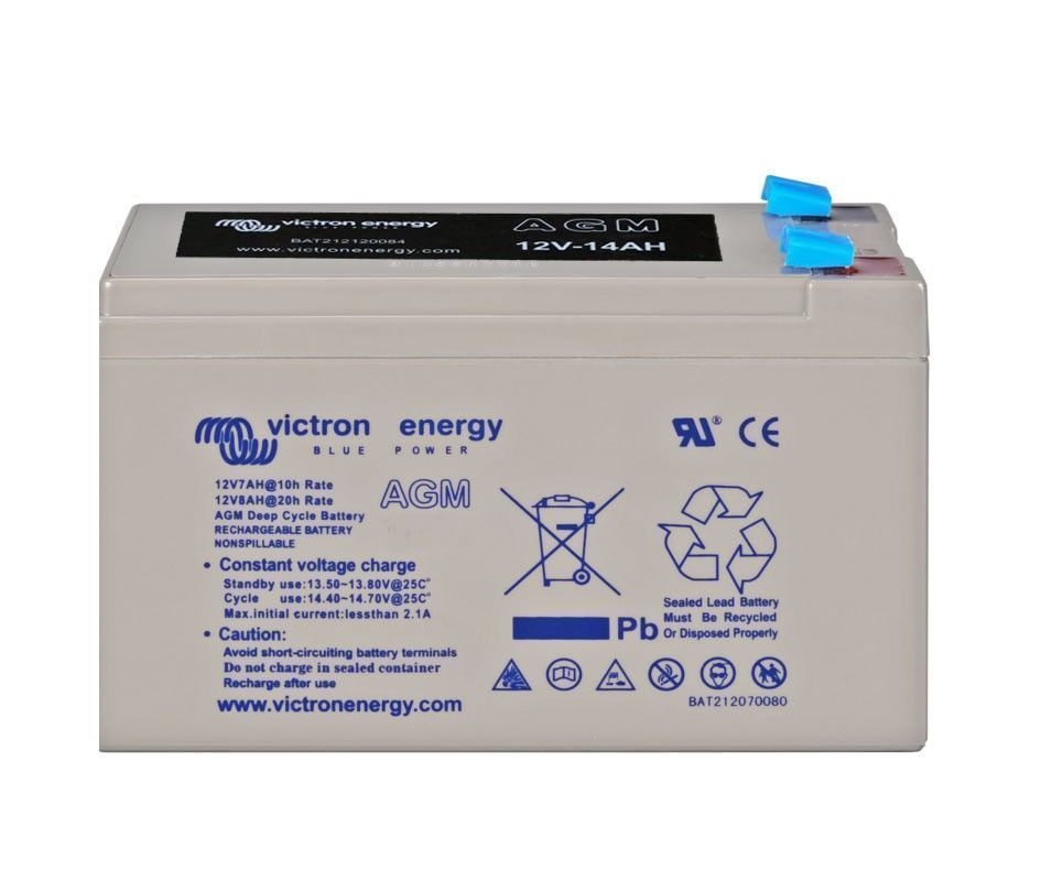 Batería solar VICTRON Energy AGM (Sin mantenimiento) 12V - 14Ah /C100