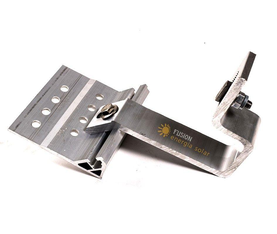 Salvatejas - Gancho de aluminio para tejados