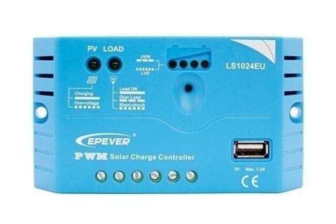Regulador de carga EPEVER LS0512EU 12V - 5A