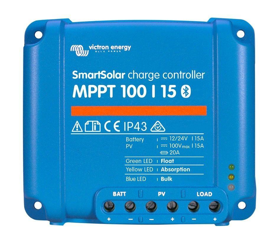 Regulador de carga VICTRON SmartSolar MPPT 100/15 12/24V 15A