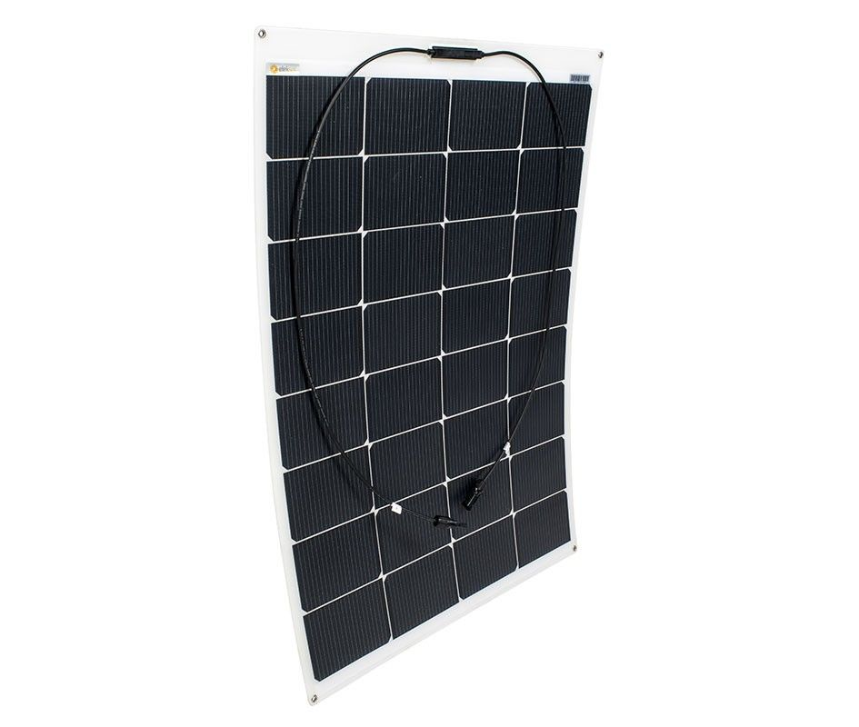 Placa solar fotovoltaica flexible ETFE* (Fibra) ELEKSOL 100W
