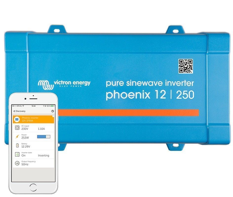 Inversor aislada VICTRON Phoenix VE.Direct Schuko 12V / 250VA