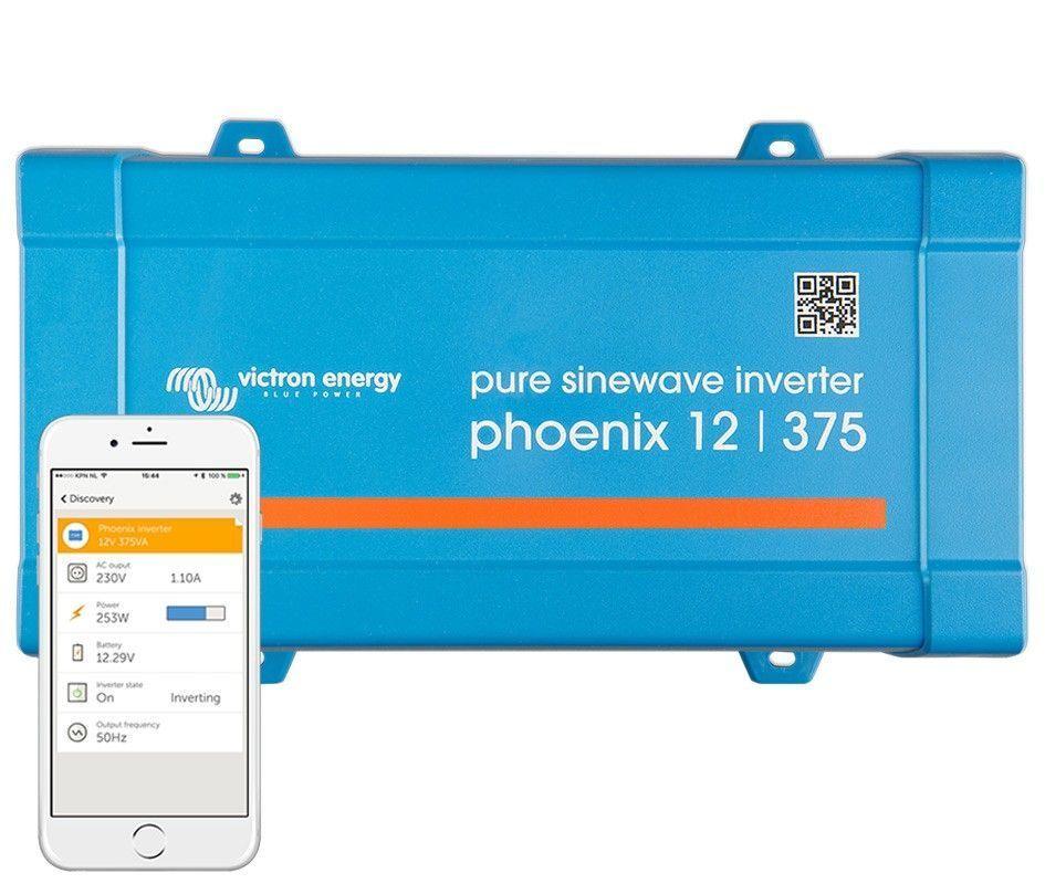 Inversor aislada VICTRON Phoenix VE.Direct Schuko 12V / 375VA