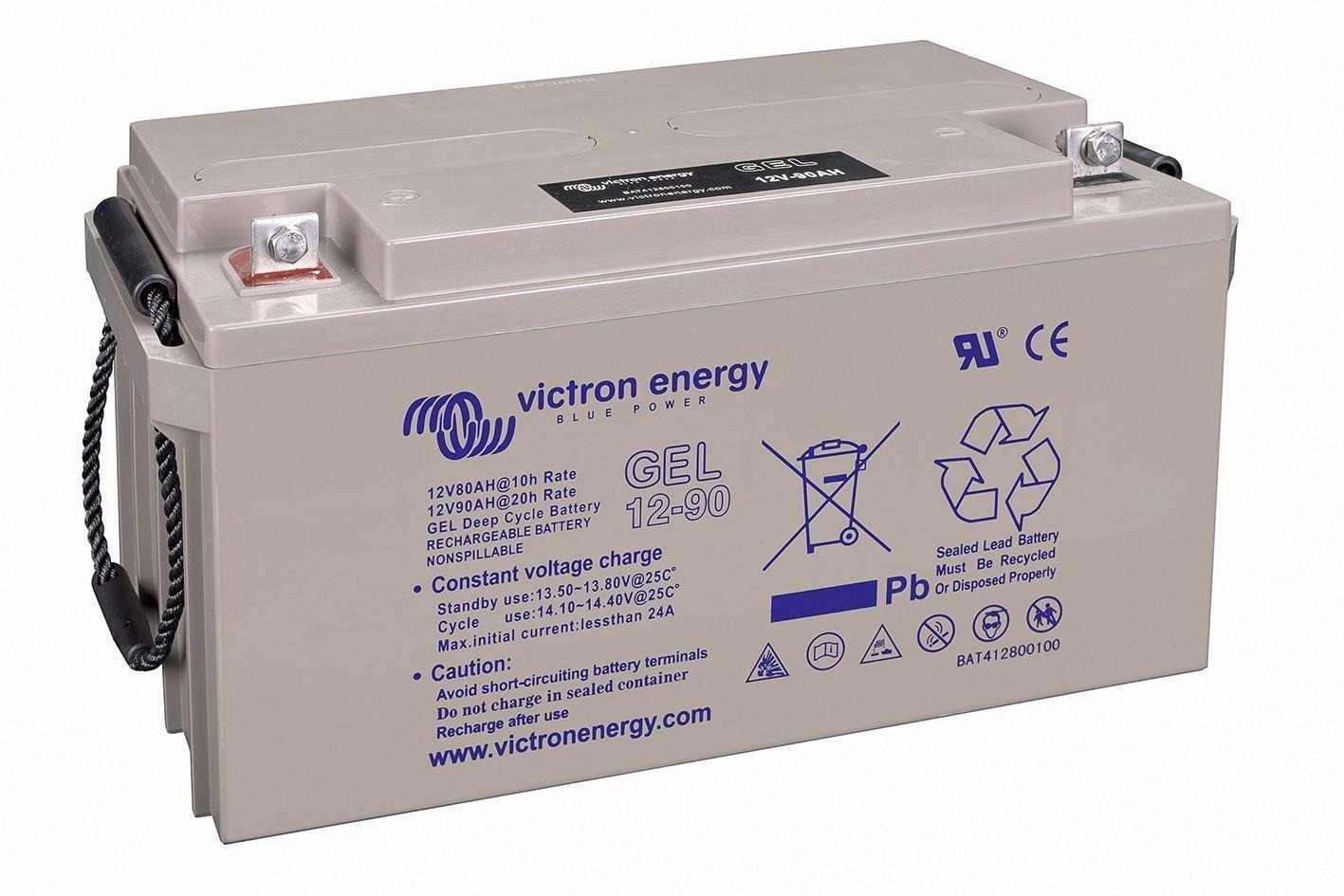 Batería solar VICTRON Energy GEL (Sin mantenimiento)12V - 90Ah /C100