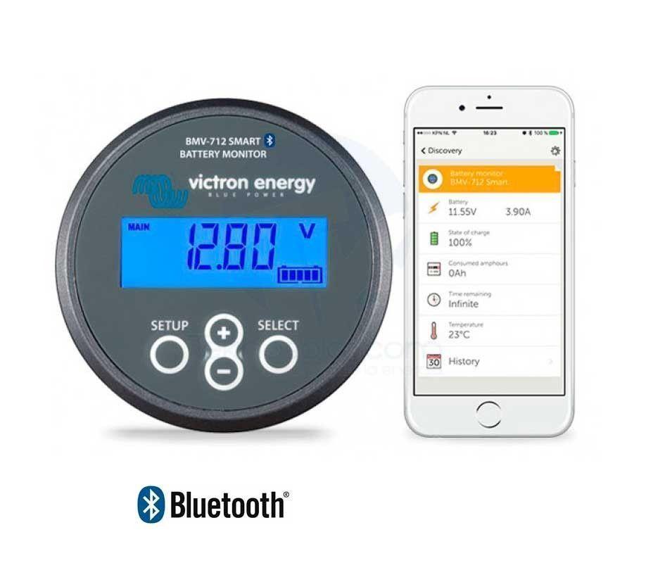 Monitorización de Baterías VICTRON BMV-712 Smart